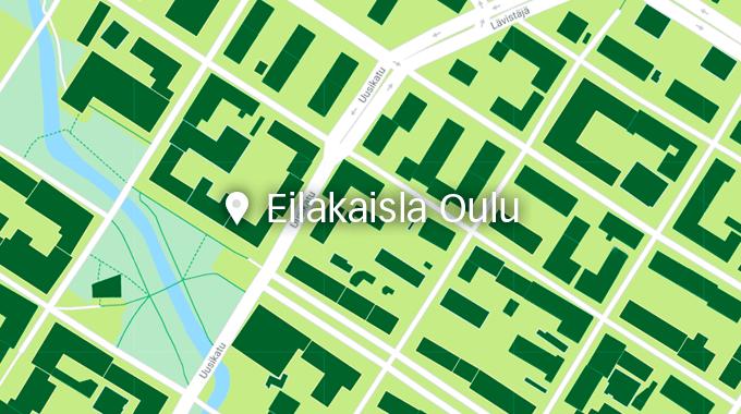 Eilakaisla uuteen osoitteeseen Oulussa
